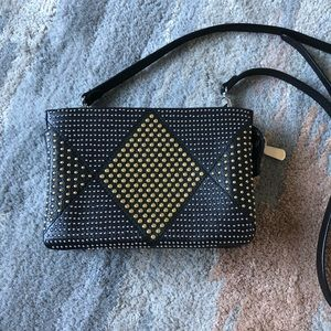 VINCE CAMUTO studded crossbody bag